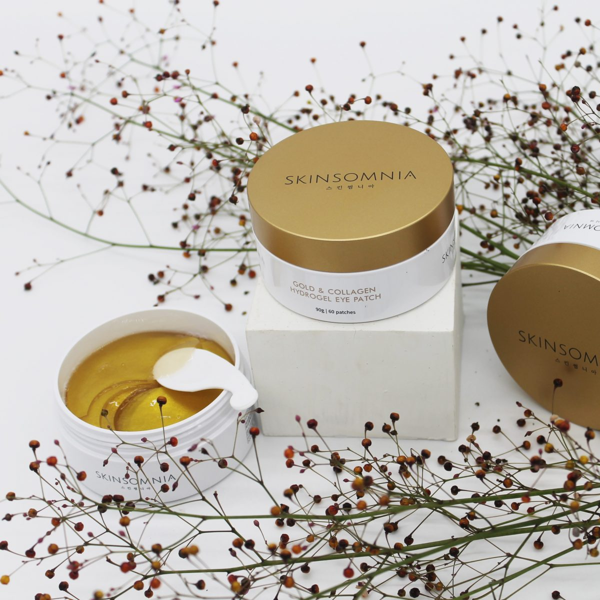 SKINSOMNIA GOLD & COLLAGEN HYDROGEL EYE PATCH