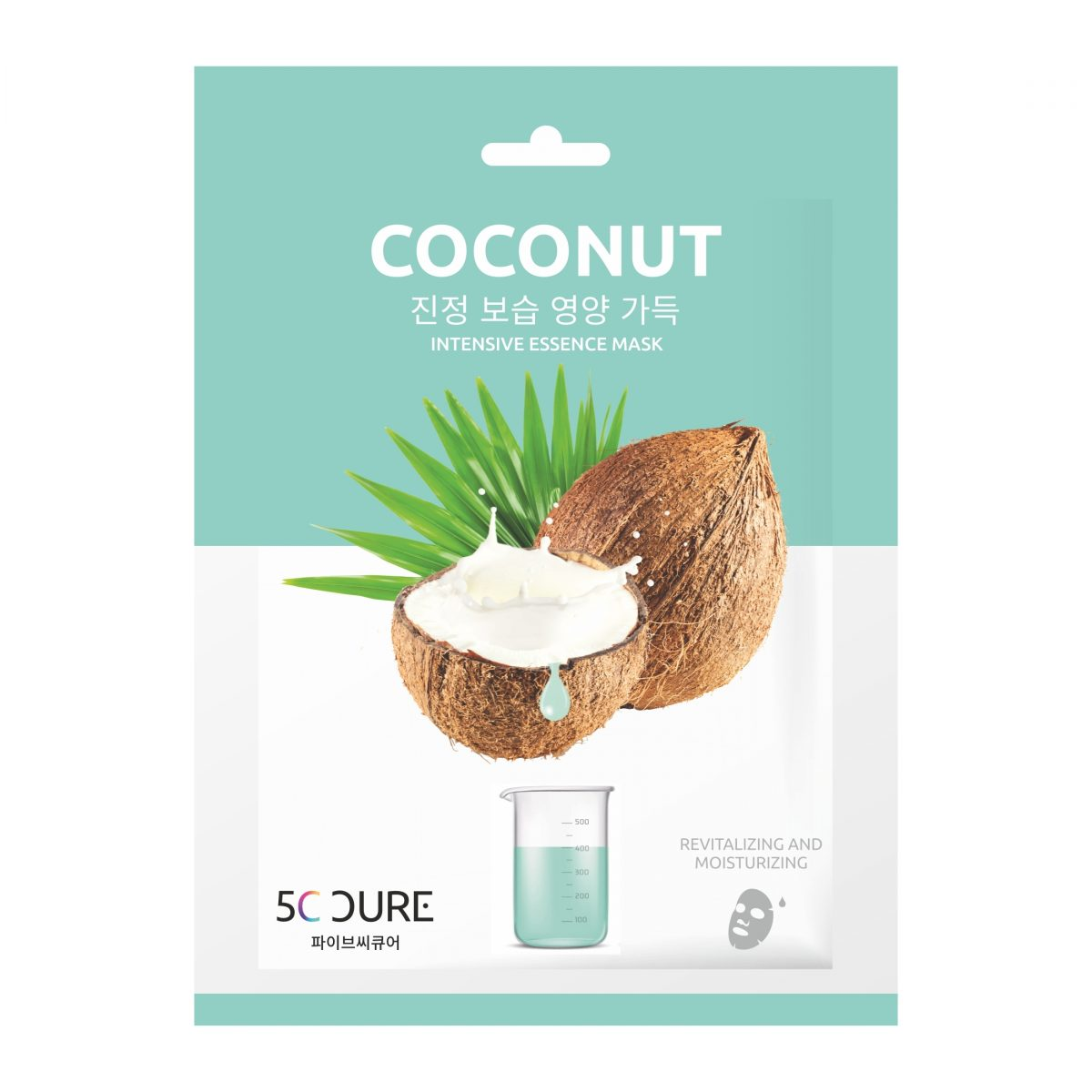 5C CURE COCONUT INTENSIVE ESSENCE MASK